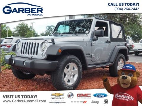 New Jeep Wrangler 4x4 Sport 2dr SUV
