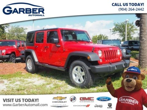 2017 Jeep Wrangler Unlimited 4x4 Sport 4dr SUV 4WD
