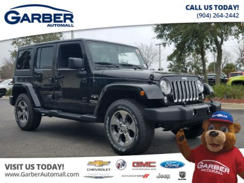New Jeep Wrangler Unlimited 4x4 Sahara 4dr ' custom Leather package'