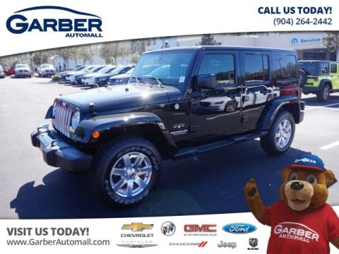 New Jeep Wrangler Unlimited 4x4 Sahara 4dr SUV