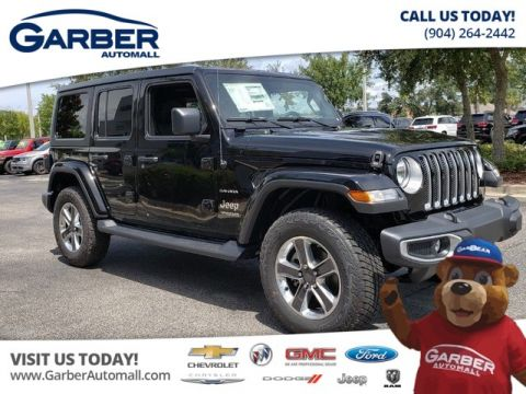 New 2018 Jeep Wrangler Unlimited Sahara w/Custom Leather