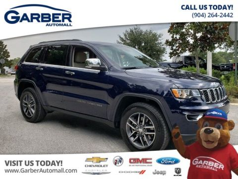 Pre-Owned 2018 Jeep Grand Cherokee Limited w/Diesel