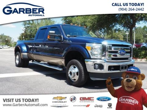 Used Ford F-350 4x4 Lariat 4dr Crew Cab 8 ft. LB DRW Pickup