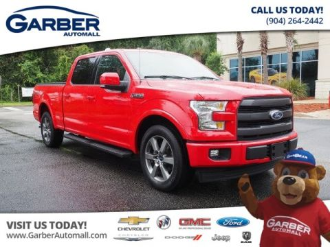 2017 Ford F-150 4x2 Lariat 4dr SuperCrew 5.5 ft. SB