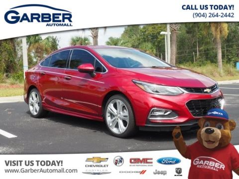 New 2018 Chevrolet Cruze Premier Auto 4dr Sedan