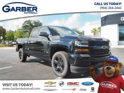 2018 Chevrolet Silverado 1500 4x4 Custom 4dr Double Cab 6.5 ft. SB