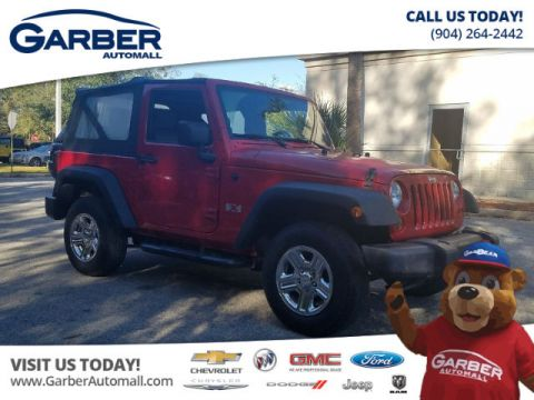 Used Jeep Wrangler X