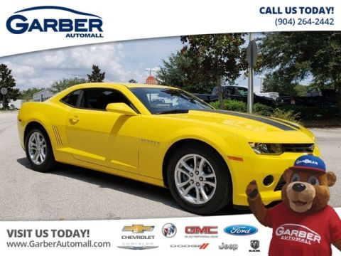 Pre-Owned 2015 Chevrolet Camaro LS w/2LS