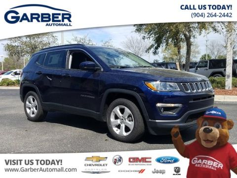 New Jeep Compass Latitude 'in Loaner Service'