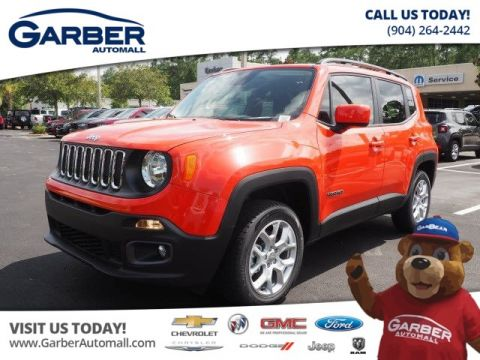 New Jeep Renegade Latitude 4x4 w/Custom Leather