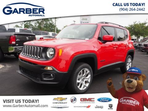 New Jeep Renegade 4x4 Latitude 4dr SUV