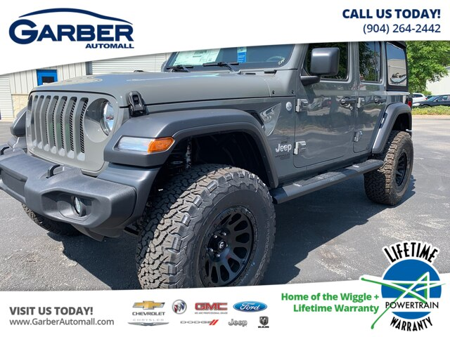 Jeep Wrangler Unlimited Sport >> New 2019 Jeep Wrangler Unlimited Sport S 4x4 Baja Edition Suv In