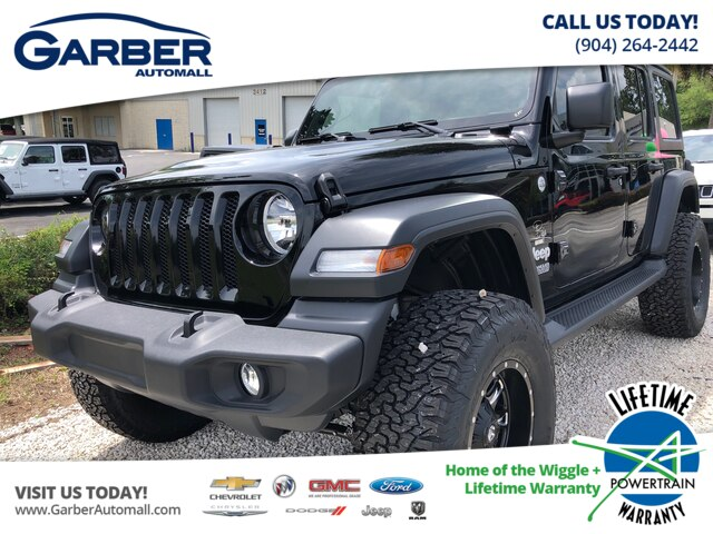 New 2019 Jeep Wrangler Unlimited Sport Baja Package