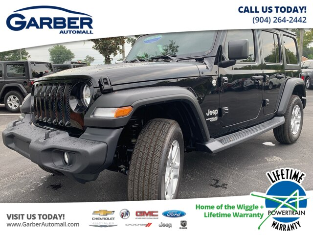 New 2019 Jeep Wrangler Unlimited Sport 4x4, Hard Top, V6