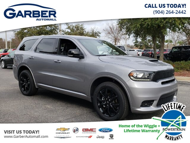 New 2019 Dodge Durango Gt Awd V6 W Blacktop Pkg Navigation Suv In