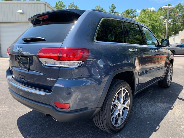 New 2020 Jeep Grand Cherokee Limited 4x4, Premium Lights, 20 wheels