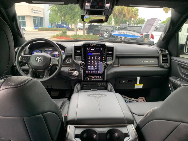 New 2019 Ram 1500 Limited 4X4 currently in Loaner Service