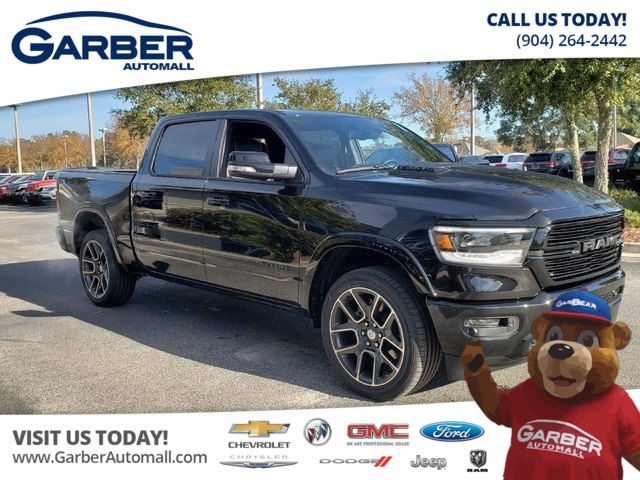 New 2019 Ram 1500 Laramie Crew 4x4 W Black Appearance Package Truck