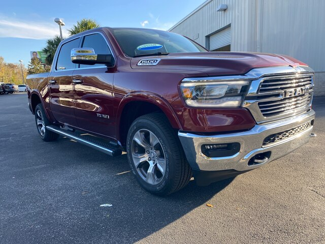 New 2020 Ram 1500 Laramie 4x4, currently in Loaner Service