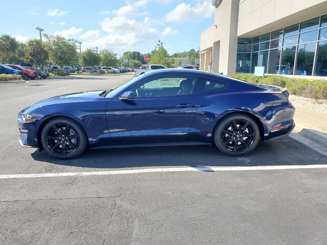 New 2019 Ford Mustang GT Premium, 401A, Active Exhaust, Blk Accent Pkg