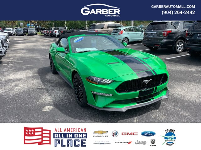 New 2019 Ford Mustang GT Premium, 400A, Active Exhaust, NAV