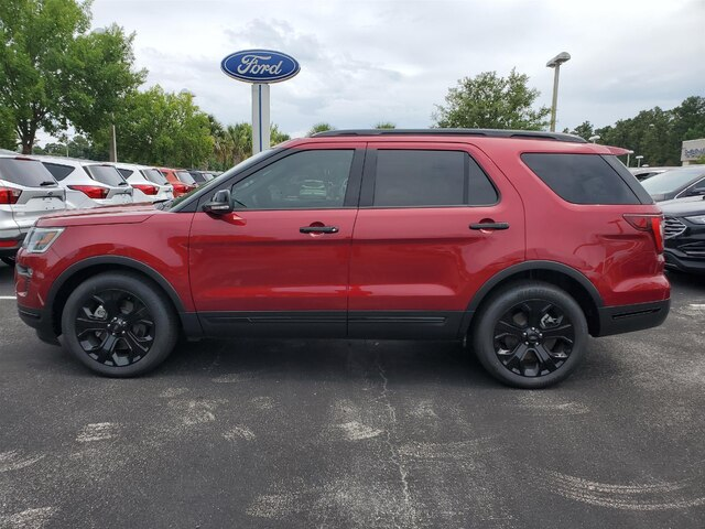 New 2019 Ford Explorer Sport, Moonroof, Leather, EcoBoost