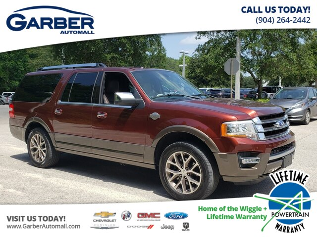 Ford Expedition El >> Pre Owned 2017 Ford Expedition El King Ranch Suv In Green Cove