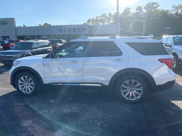 New 2020 Ford Explorer Limited, 300A, 360 Assist, Tow Package, 20 Wheels