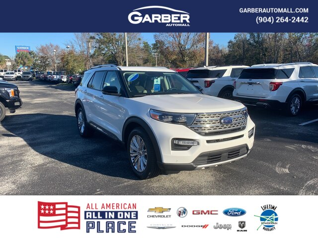 New 2020 Ford Explorer Limited, 300A, Moonroof, Tow PKG, 20in Wheels