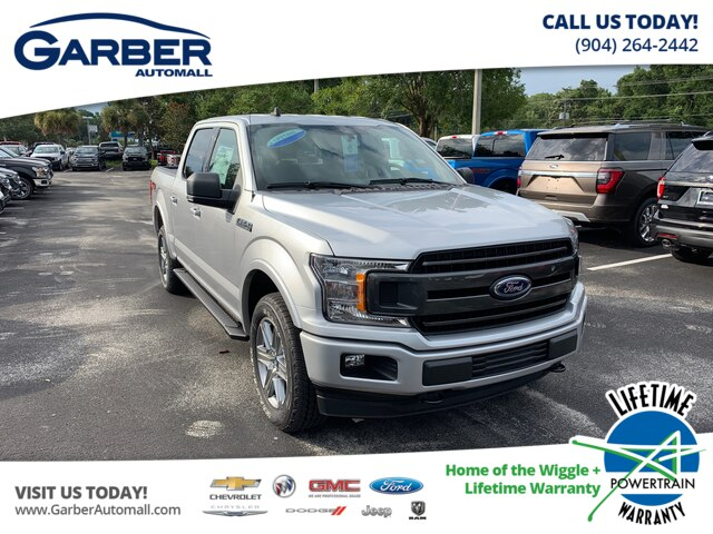New 2019 Ford F-150 XLT, V8, FX4, 302A