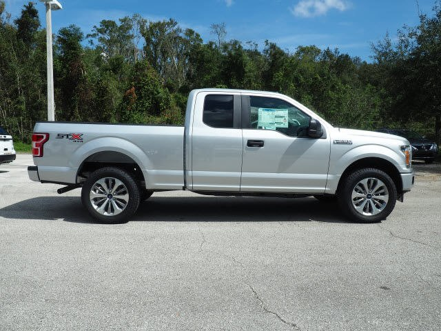Ford F 150 Body Styles >> New 2018 Ford F-150 4x4 XL 4dr SuperCab 8 ft. LB Truck in Green Cove Springs #JFA42086 | Garber ...
