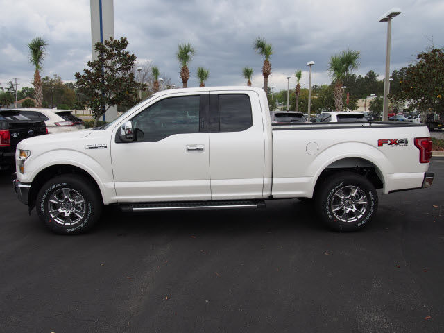 new 2017 ford f 150 4x4 lariat 4dr supercab 6 5 ft sb truck in green cove springs hfb30639. Black Bedroom Furniture Sets. Home Design Ideas