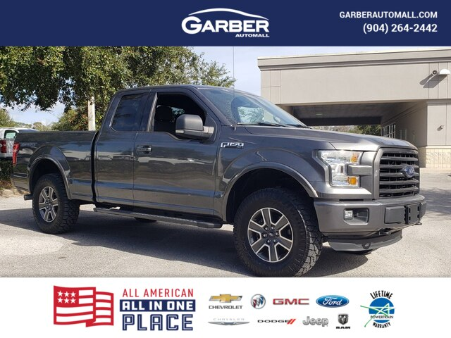 Pre-Owned 2015 Ford F-150 XLT SPORT