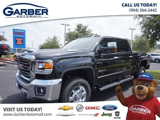 new 2017 gmc sierra 2500hd 4x4 slt 4dr crew cab sb truck in green cove springs hf204862. Black Bedroom Furniture Sets. Home Design Ideas