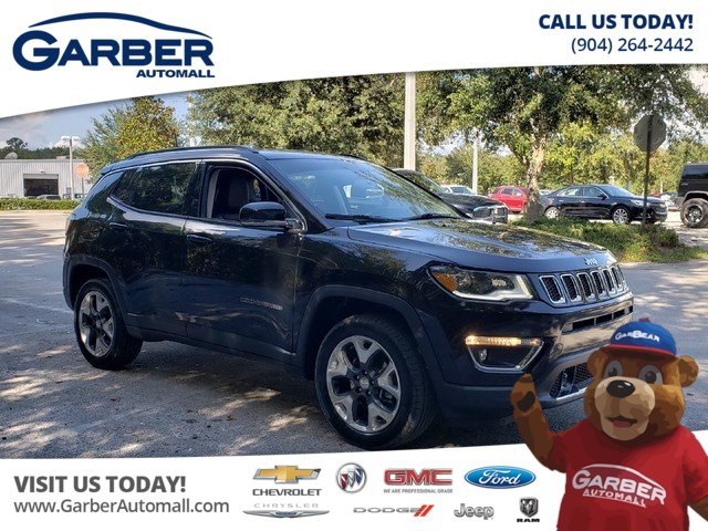 Pre-Owned 2018 Jeep Compass Limited 4x4 w/Navigation