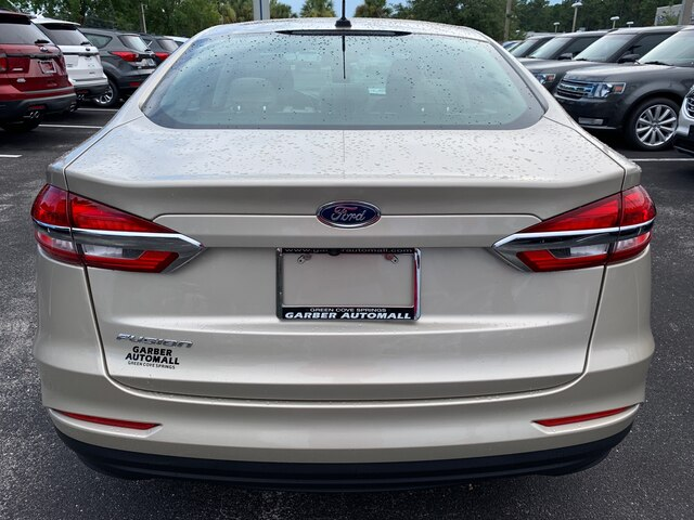New 2019 Ford Fusion S, Bluetooth, Cruise Control