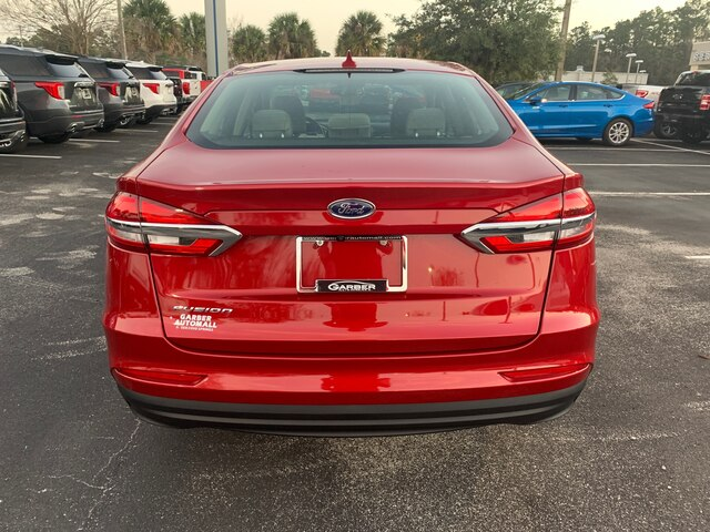 New 2020 Ford Fusion S, 100A, Co-Pilot 360, Push Button Start