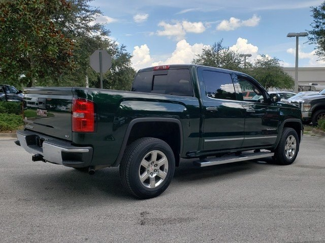 Pre-Owned 2015 GMC Sierra 1500 SLT 4x4 Z71 Package