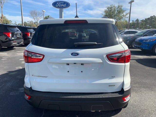 New 2020 Ford EcoSport SE, 200A, Moonroof