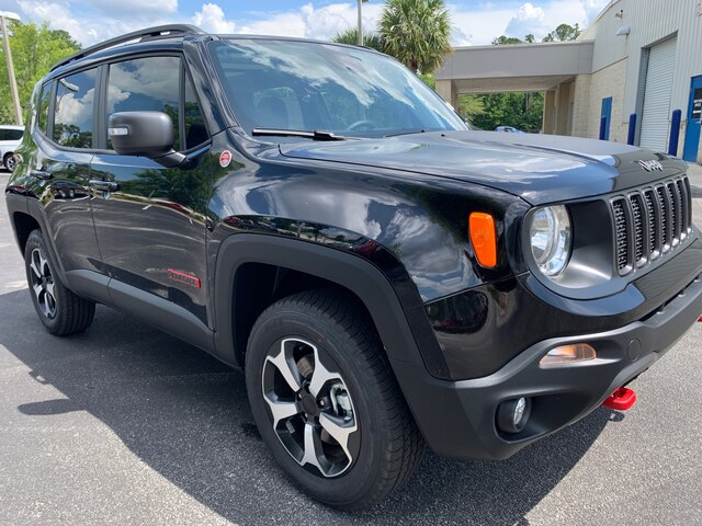 New 2019 Jeep Renegade Trailhawk 4x4, Dual Power Roof,Navi
