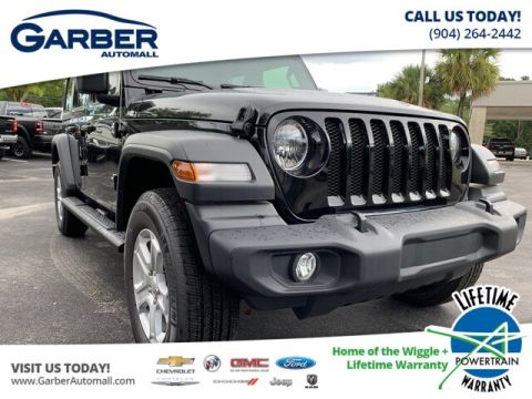 2019 Jeep Wrangler Unlimited Sport 4x4, Trailer Tow Group, Hard Top 4WD