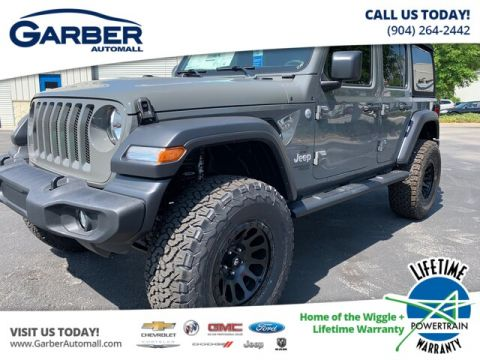 2019 Jeep Wrangler Unlimited Sport S 4x4 Baja Edition 4WD