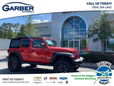 New 2019 Jeep Wrangler Unlimited JL Sport 24S Lifted Baja Special Edition