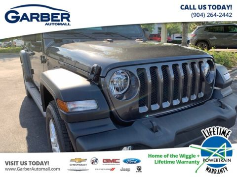 2019 Jeep Wrangler Unlimited Sport S Package and Premium Soft Top 4WD