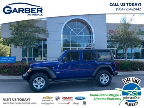 "2019 Jeep Wrangler Unlimited Sport 4x4, Trailer Tow, Hard Top, 7 Radio"" 4WD"