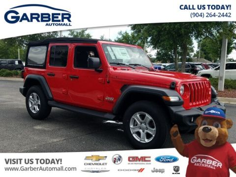 New 2018 Jeep Wrangler Unlimited JL Sport 4X4 24 S Pkg