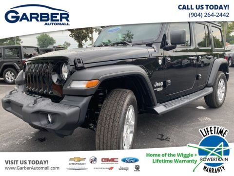 2019 Jeep Wrangler Unlimited Sport 4x4, Hard Top, V6 4WD