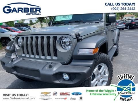 2019 Jeep Wrangler Unlimited JL Sport, ALL TERRAIN TIRES, HARD TOP 4WD