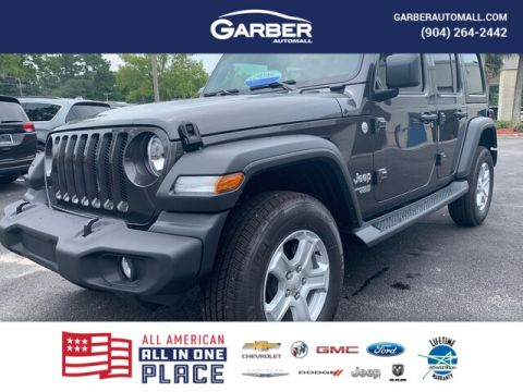 New 2019 Jeep Wrangler Sport 4x4 Tech Group, auto, Hard Top 4WD