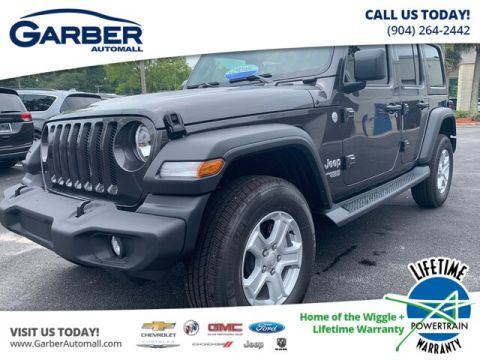2019 Jeep Wrangler Unlimited Sport 4x4 Tech Group, auto, Hard Top 4WD